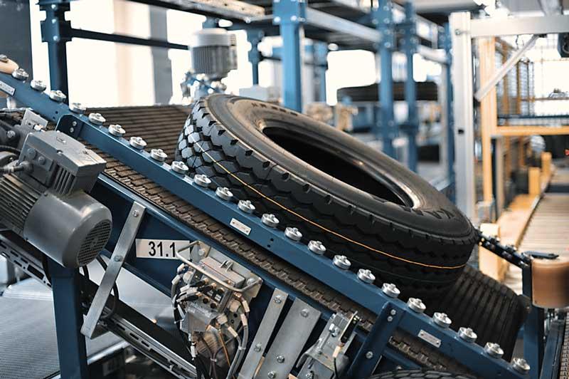 Kama Reifen in der Produktion