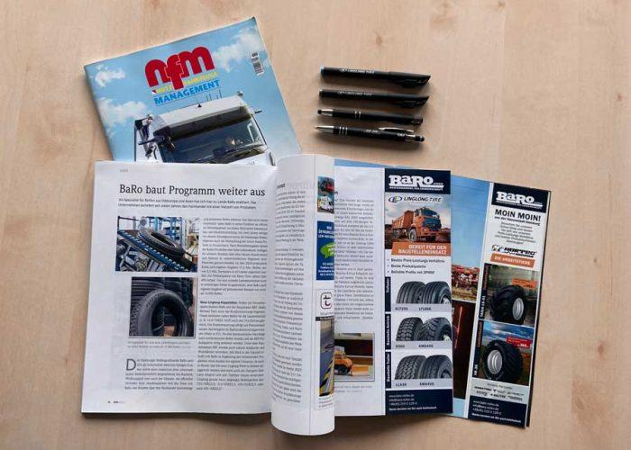 Die Zeitschrift NFM hat einen Bericht über BaRo veröffentlicht